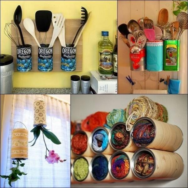 Diy Home Decor Ideas That Anyone Can Do: Geniales Ideas Para Reciclar Y Reutilizar Latas