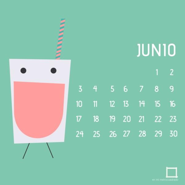... Imágenes de Calendarios mes de junio 2016 para descargar e imprimir