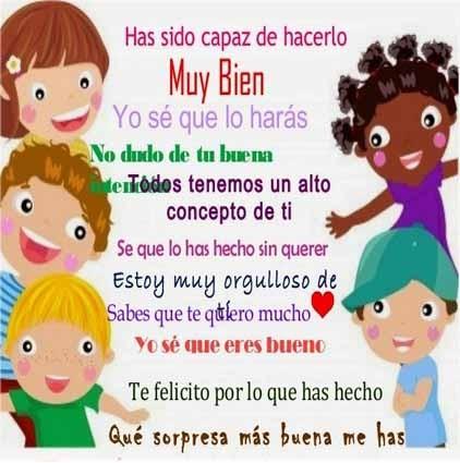 Niños felices con frases   (4)