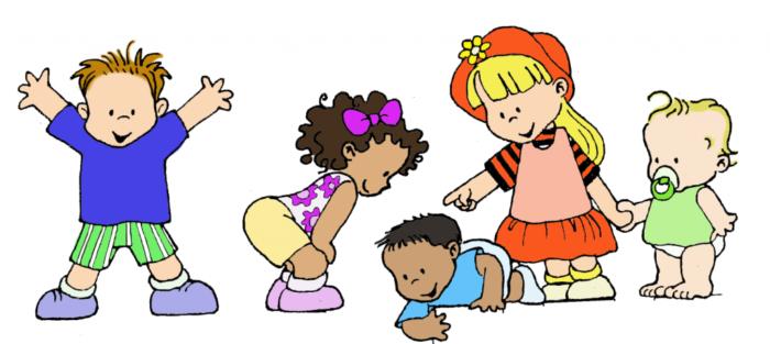 Im genes de ni os felices jugando y con frases tiernas for Aprendiendo y jugando jardin infantil