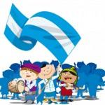 Imágenes del 25 de Mayo celestes y blancas para Conmemorar el Día de la Patria