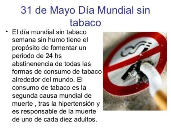 Día Mundial sin Tabaco carteles (10)