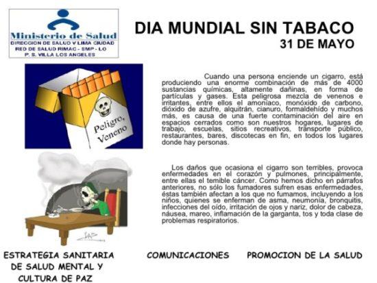 Día Mundial sin Tabaco carteles (11)