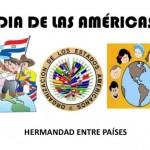 Imágenes para educar y colorear en el Día de las Americas 14 de Abril