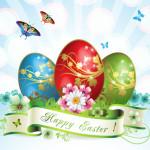 Imágenes con frase Happy Easter (Feliz Pascua) para compartir el Domingo de Resurrección