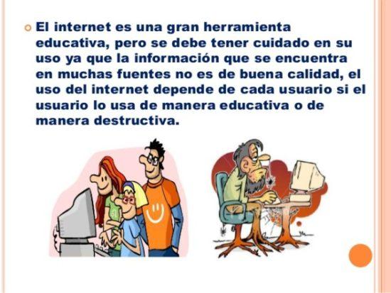 Información sobre  internet  (2)