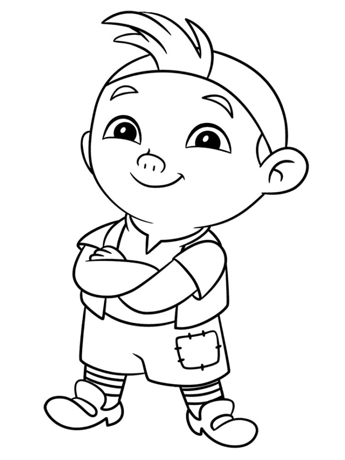 Boss Mickey Coloring Pages