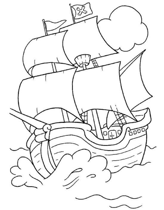 Jake y los piratas del nunca jamas para colorear (2)