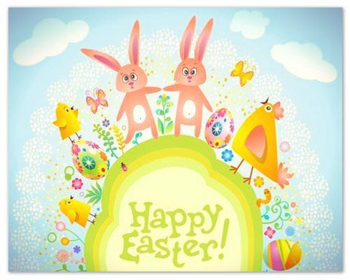 Tarjetas Happy Easter (4)