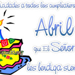 Imágenes con frases de Adios Marzo y Bienvenido Abril Hola nuevo mes