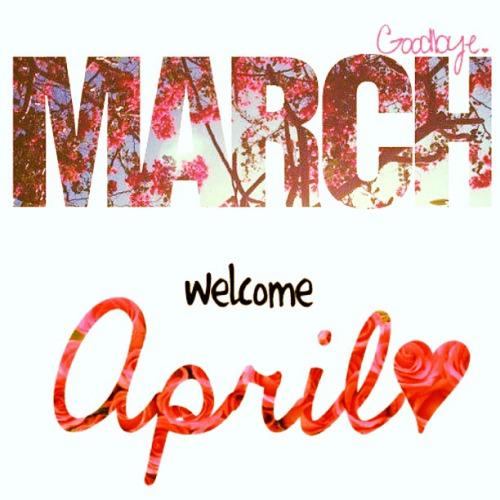 Resultado de imagen de Marzo y abril