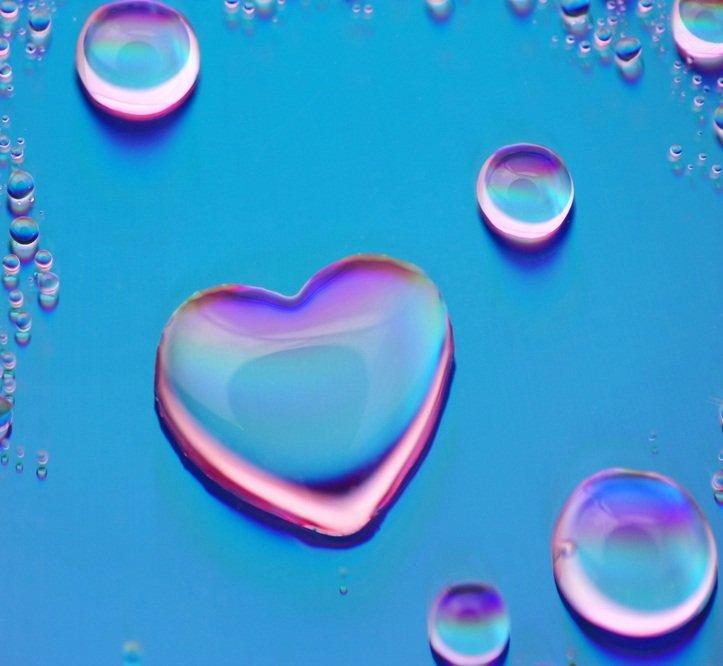 Im genes de corazones con frases de amor con movimiento y for Fondos animados de agua