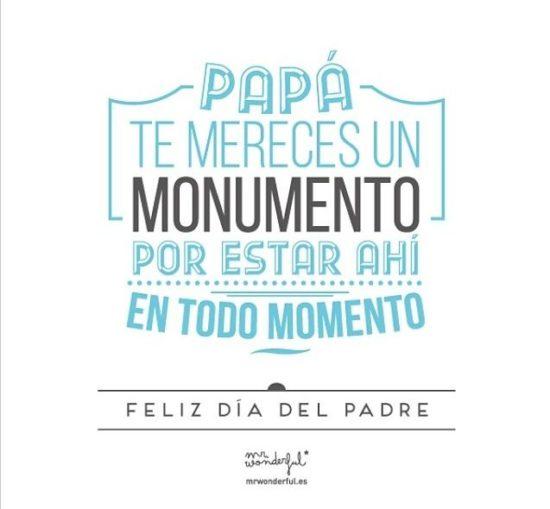 Im genes bonitas con dedicatorias para el d a del padre - Mr wonderful padre ...