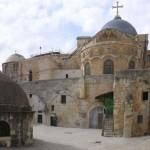 Imágenes de la Iglesia del Santo Sepulcro en Jerusalén para Semana Santa