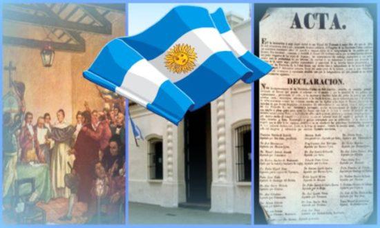 de Julio con información para el Día de la Independencia Argentina