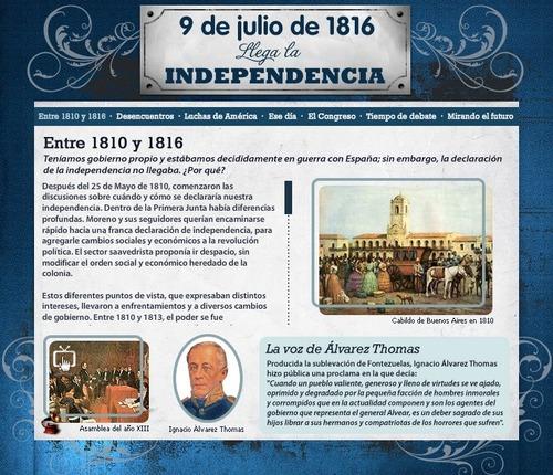 de la independencia, muy utiles para el 9 de Julio próximo celebrando