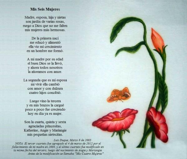 hermosos poemas y versos para dedicar el d a de la mujer