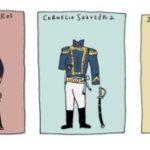 Imágenes de la vestimenta en la época colonial de 1810 para el 25 de Mayo