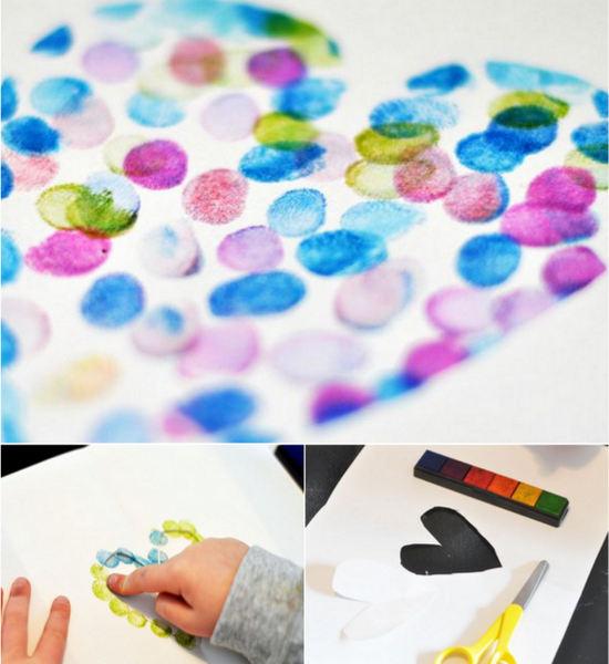 Coraz-n-con-pintura-de-dedos-para-San-Valent-n