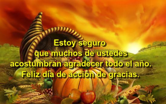 Feliz dia de acción de Gracias frases (1)