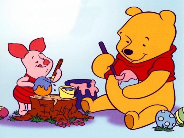 Dibujos Walt Disney Bebes: Imágenes De Winnie Pooh Para Imprimir O Descargar