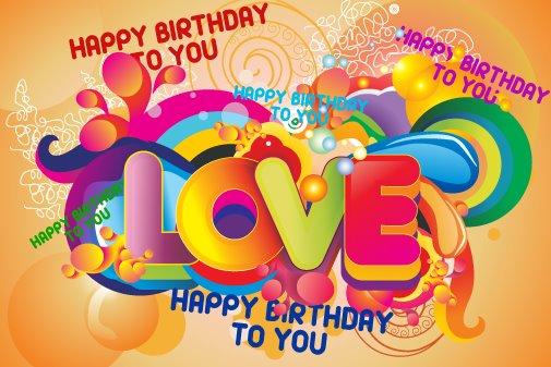 Tarjetas mensajes de Amor Feliz cumpleaños (1)
