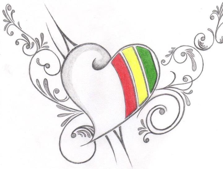 dibujos artisticos de corazones hechos a l piz informaci n