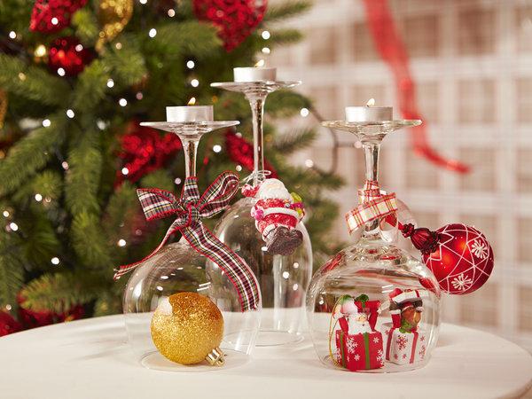 Ideas creativas para la mesa navide a informaci n im genes - Adornos navidenos para mesas ...