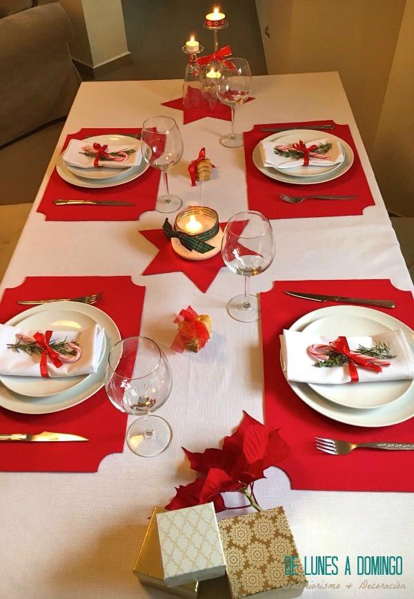 Ideas creativas para la mesa navide a informaci n im genes - Mesa de navidad decorada ...