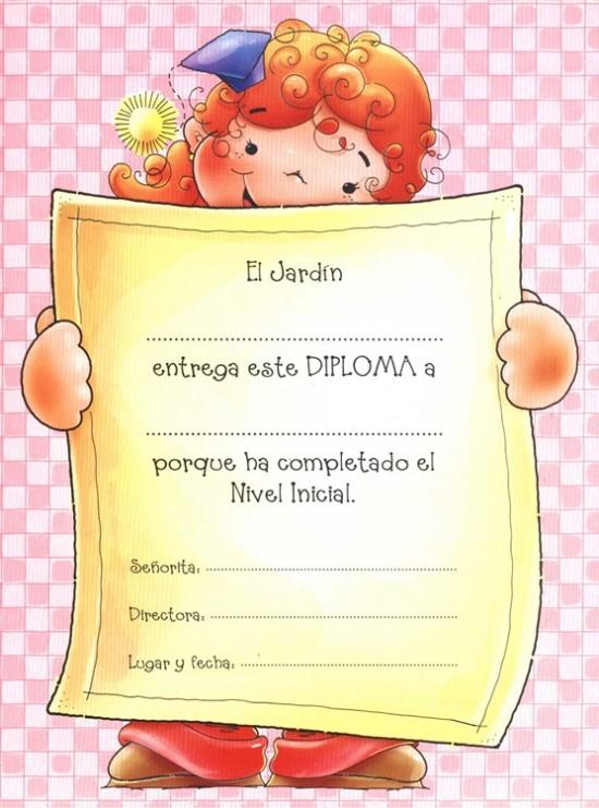 Diplomas Escolares Infantiles Para Ninos Para Imprimir Y Descargar Informacion Imagenes