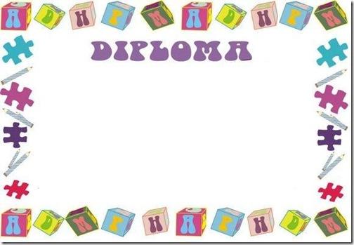 Diplomas escolares Infantiles para Niños para imprimir y descargar ...