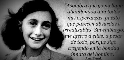 Frases del Diario de Ana Frank las mejores frases
