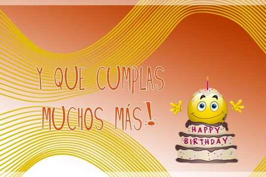 imagenes de Feliz cumpleaños con frase y smile para dedicar (11)