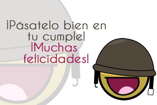 imagenes de Feliz cumpleaños con frase y smile para dedicar (5)