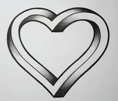 Нарисованное сердце фото