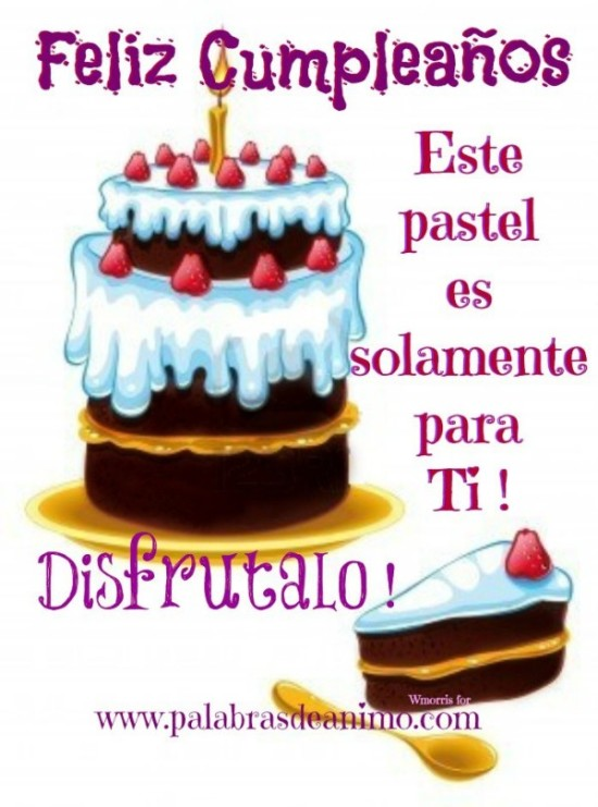 Feliz Cumple - Happy BirthDay (2)