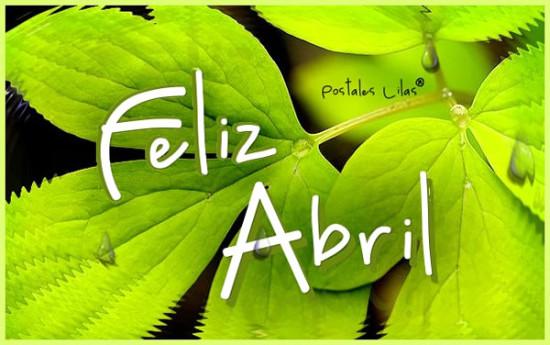 Feliz mes de Abril (1)