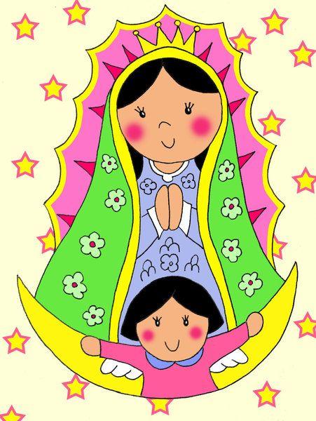 Imágenes de la Virgen de Guadalupe caricaturizadas Distroller ...