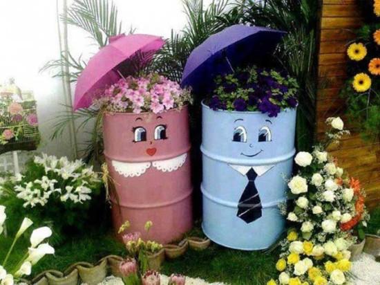 bonitas macetas con reciclaje (1)