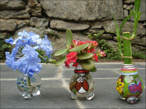 macetas recicladas para el jardin (2)