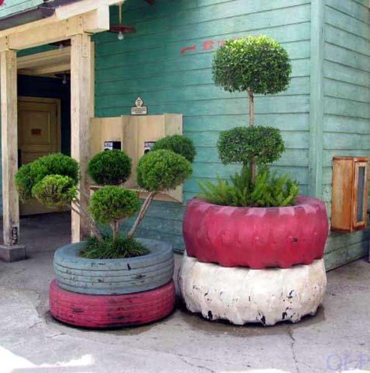 80 im genes de hermosas macetas originales y recicladas - Macetas de jardin ...