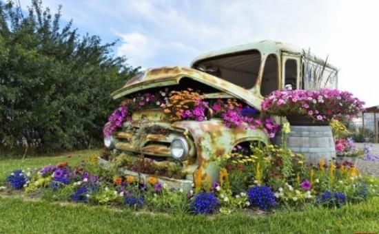 80 im genes de hermosas macetas originales y recicladas - Cosas para el jardin ...