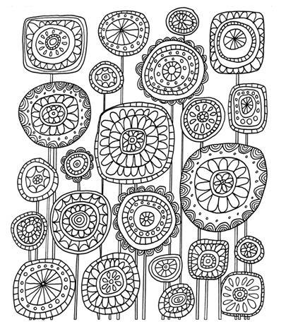 Dibujos De Flores Dificiles. Dibujos De Flores Dificiles. Dibujos De ...
