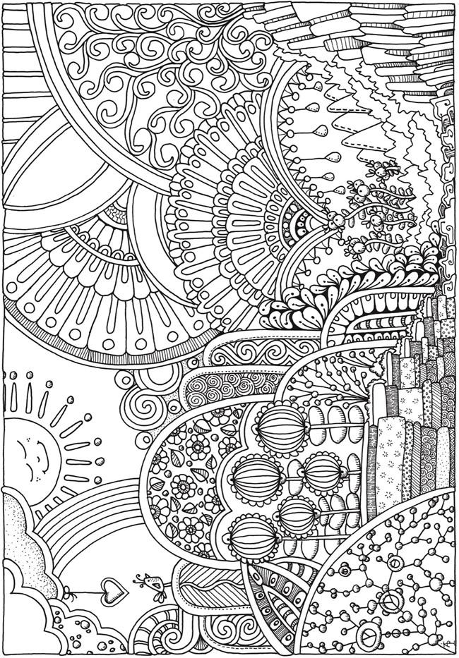 50 im genes de mandalas para colorear e imprimir con dibujos faciles de pintar informaci n - Dibujos originales para pintar ...