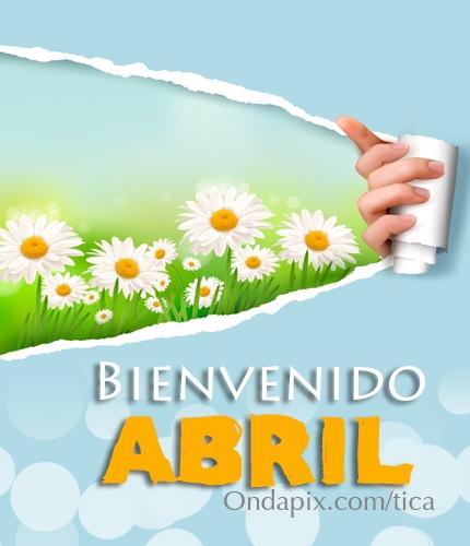 mes de Abril Frases (4)