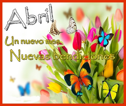 mes de Abril Frases (5)