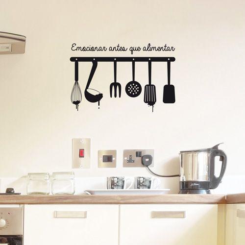 Im genes de cocina y comidas con frases para descargar - Vinilos cocina originales ...