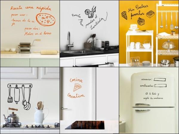 Im genes de cocina y comidas con frases para descargar for Vinilos pared cocina