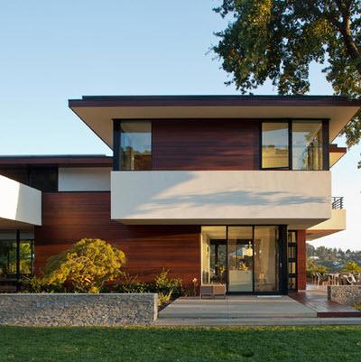 Fachadas de casas bonitas modernas de dos pisos simples for Fachadas bonitas y modernas