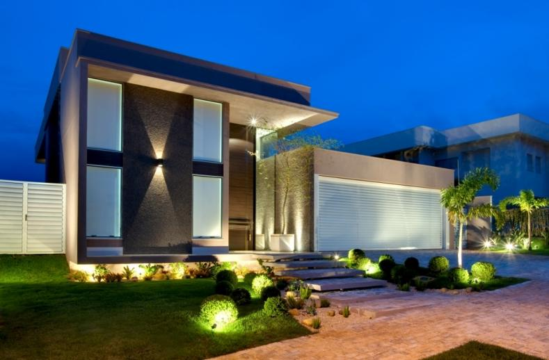 Fachadas de casas bonitas modernas de dos pisos simples - Fachadas casas de pueblo ...